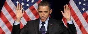 obama gives up
